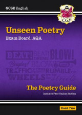 Omslag - New Grade 9-1 GCSE English Literature AQA Unseen Poetry Guide - Book 2