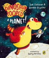 Omslag - The Dinosaur That Pooped A Planet!