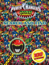 Omslag - Power Rangers Search and Find 2015