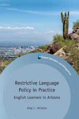 Omslag - Restrictive Language Policy in Practice