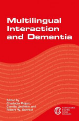 Omslag - Multilingual Interaction and Dementia