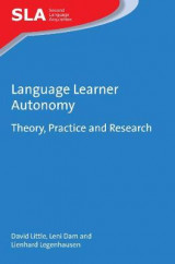 Omslag - Language Learner Autonomy
