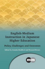 Omslag - English-Medium Instruction in Japanese Higher Education