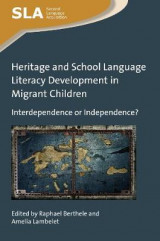 Omslag - Heritage and School Language Literacy Development in Migrant Children