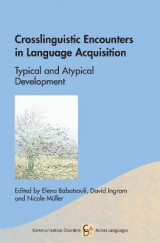 Omslag - Crosslinguistic Encounters in Language Acquisition