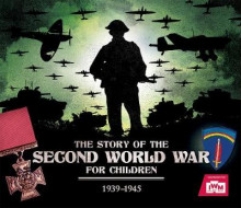The Story of the Second World War for Children av Peter Chrisp (Innbundet)