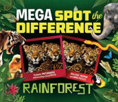 Mega Spot the Difference: Rainforest av Camilla de la Bedoyere (Heftet)