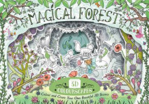 3D Colourscapes: Magical Forest av Anna Brett (Heftet)