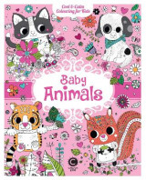 Omslag - Cool & Calm Colouring for Kids: Baby Animals