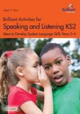 Omslag - Brilliant Activities for Speaking and Listening KS2