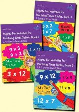 Omslag - Mighty Fun Activities for Practising Times Tables, Set of 3 Books