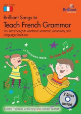Omslag - Brilliant Songs to Teach French Grammar (Book & 2 CDs)