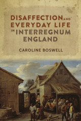Omslag - Disaffection and Everyday Life in Interregnum England