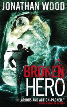 Broken Hero av Jonathan Wood (Heftet)