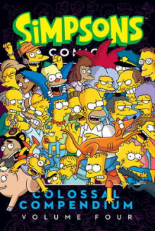 Simpsons Comics- Colossal Compendium: Volume 4 av Matt Groening (Heftet)