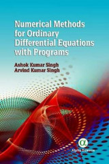 Omslag - Numerical Methods for Ordinary Differential Equations with Programs