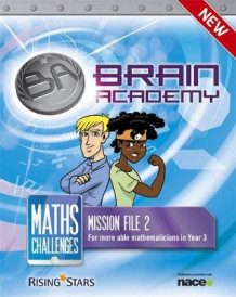 Brain Academy: Maths Challenges Mission File 2 av Steph King og Richard Cooper (Heftet)