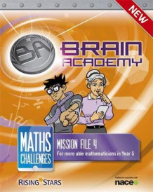 Brain Academy: Maths Challenges Mission File 4 av Steph King og Richard Cooper (Heftet)
