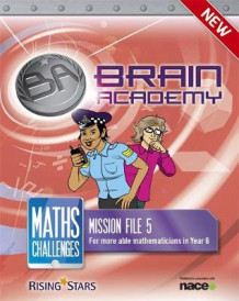 Brain Academy: Maths Challenges Mission File 5 av Steph King og Richard Cooper (Heftet)