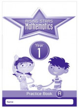 Omslag - Rising Stars Mathematics Year 1 Practice Book Pack (Single Copies of Books A, B and C)