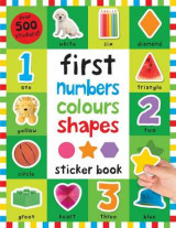 Omslag - First 100 Stickers: Numbers Colours Shapes