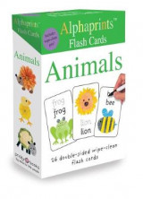 Omslag - Alphaprints Flash Cards Animals