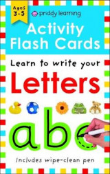 Omslag - Activity Flash Cards Letters