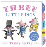 Omslag - My Favourite Fairy Tale Board Book: Three Little Pigs