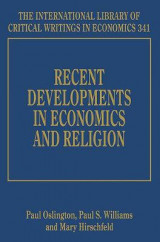 Omslag - Recent Developments in Economics and Religion