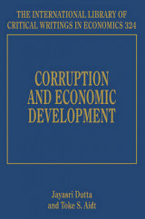 Omslag - Corruption and Economic Development