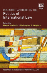Omslag - Research Handbook on the Politics of International Law