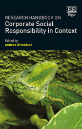Omslag - Research Handbook on Corporate Social Responsibility in Context