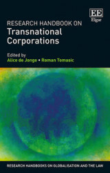 Omslag - Research Handbook on Transnational Corporations