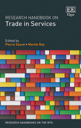 Omslag - Research Handbook on Trade in Services