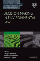 Omslag - Decision Making in Environmental Law