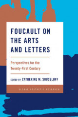 Omslag - Foucault on the Arts and Letters