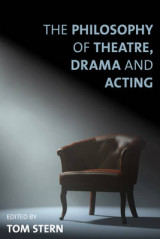 Omslag - The Philosophy of Theatre, Drama and Acting