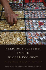 Omslag - Religious Activism in the Global Economy