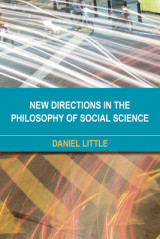 Omslag - New Directions in the Philosophy of Social Science