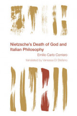 Omslag - Nietzsche's Death of God and Italian Philosophy