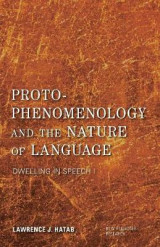 Omslag - Proto-Phenomenology and the Nature of Language