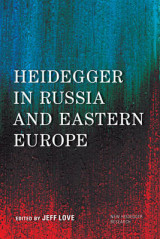Omslag - Heidegger in Russia and Eastern Europe