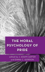 Omslag - The Moral Psychology of Pride
