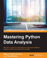 Omslag - Mastering Python Data Analysis