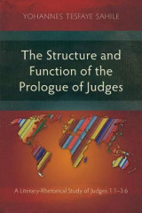 Omslag - The Structure and Function of the Prologue of Judges