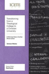 Omslag - Transitioning from a Theological College to a Christian University
