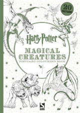 Omslag - Harry Potter Magical Creatures Postcard Book