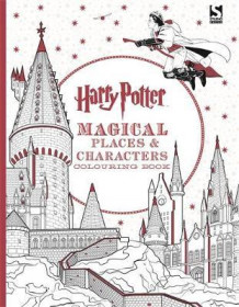 Harry Potter magical places and characters colouring book (Andre trykte artikler)