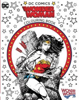 Omslag - Wonder Woman Colouring Book