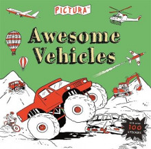 Pictura Puzzles Awesome Vehicles av Mandy Archer og Claire Sipi (Heftet)